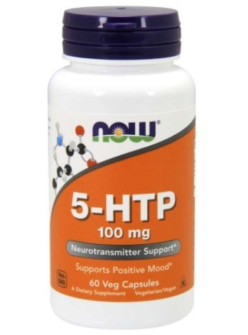 5 HTP 100mg 60 vcaps Now Foods
