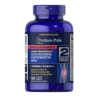 Triple Strength Glucosamine. Chondroitin & MSM Joint Soother® 90s PURITAN